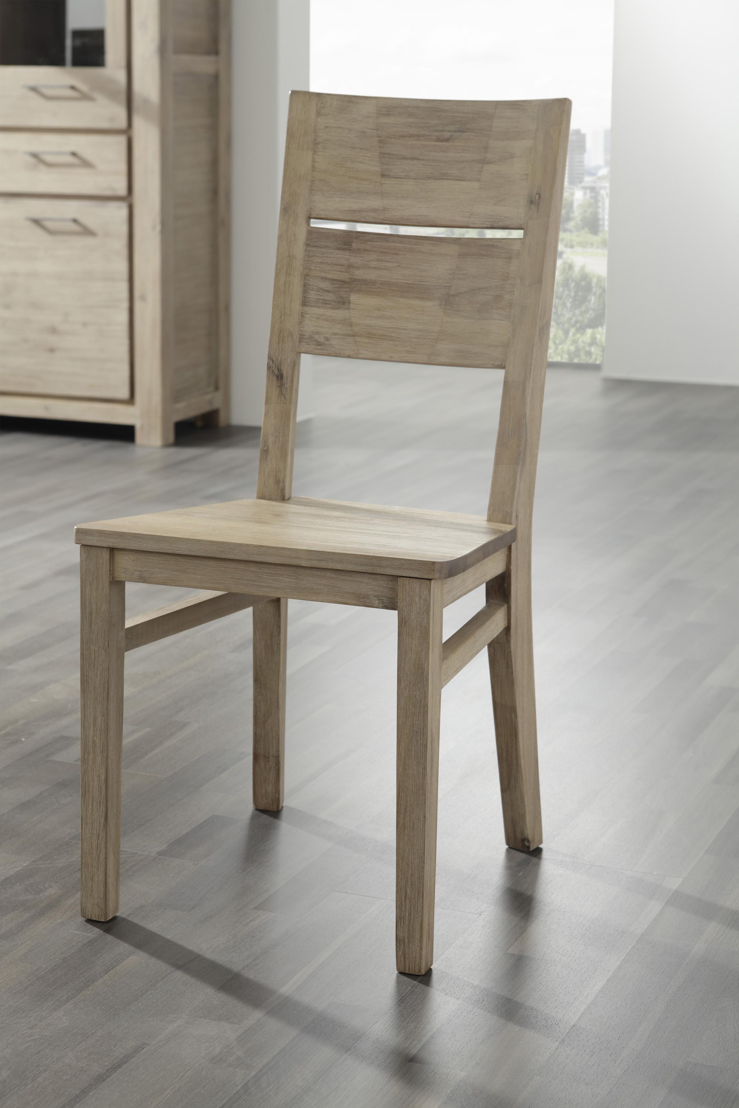 massivholz st hle coast aus akazie im 4er set von wolf m bel ebay. Black Bedroom Furniture Sets. Home Design Ideas