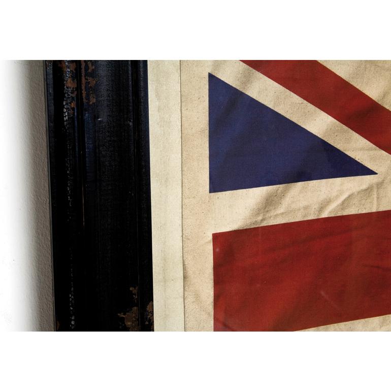 bild bilderrahmen mit union jack flag flagge 86x129 cm von. Black Bedroom Furniture Sets. Home Design Ideas